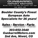 Gunbarrel Import Motors
